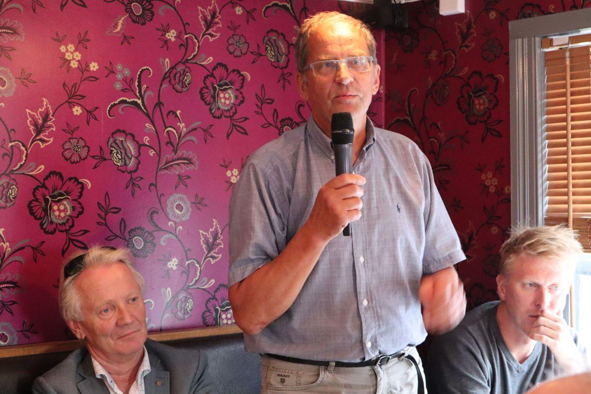 Byggmester Kjell Skog. Foto: Svanhild Blakstad