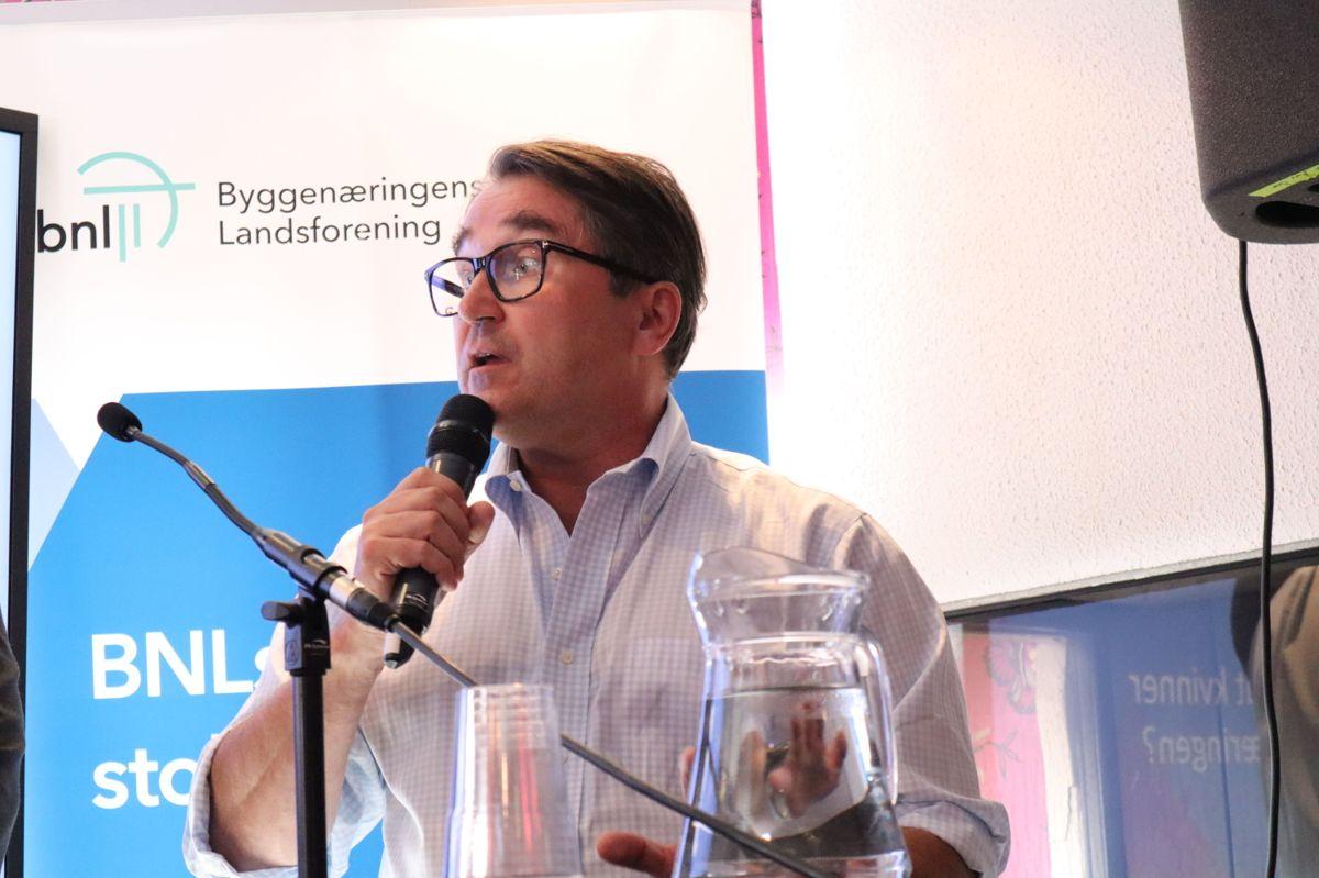 NCCs konsernsjef Tomas Carlsson. Foto: Svanhild Blakstad