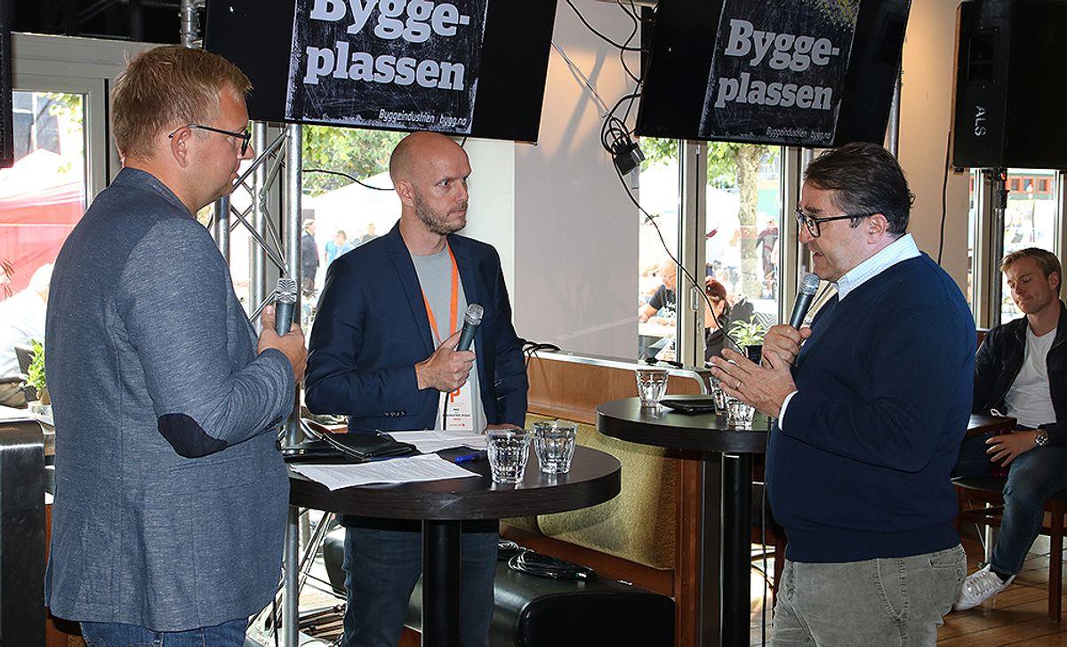 Podkast med Christian Aarhus, Frode Aga og Tomas Carlsson (konsernsjef i NCC).