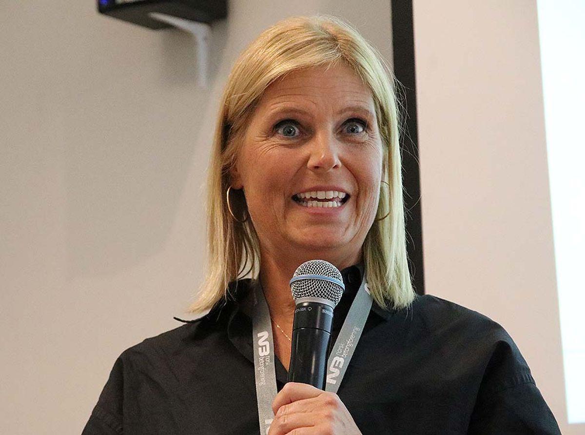 Cecilie Hagby, daglig leder i Norsk Betongforening.