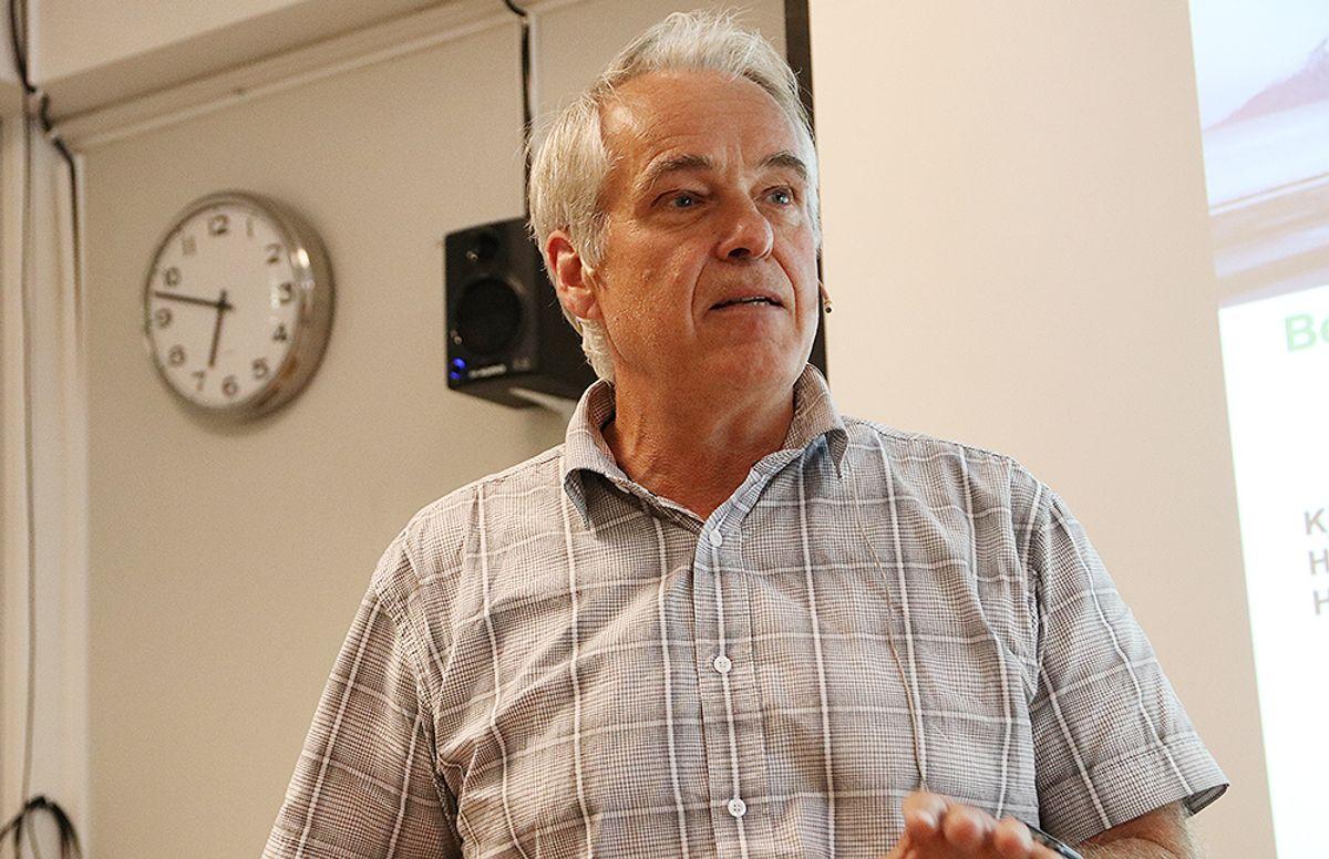 Kjell Skjeggerud, direktør FoU i HeidelbergCement.