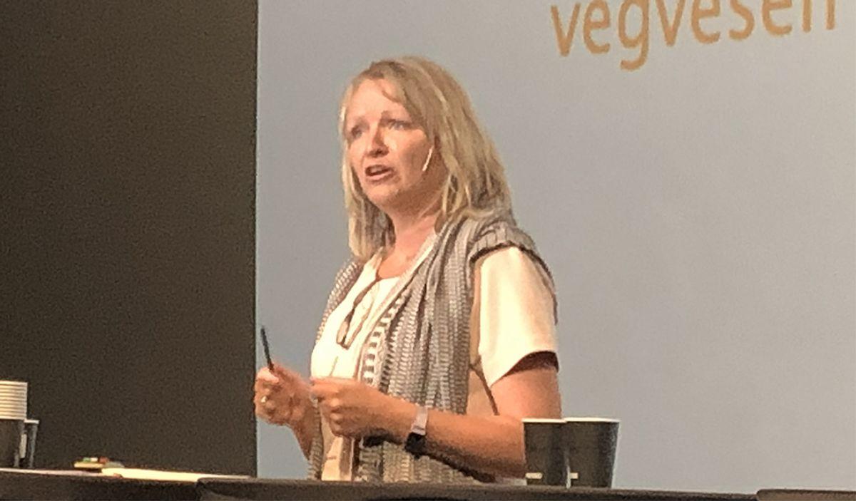 Bettina Sandvin i Statens vegvesen