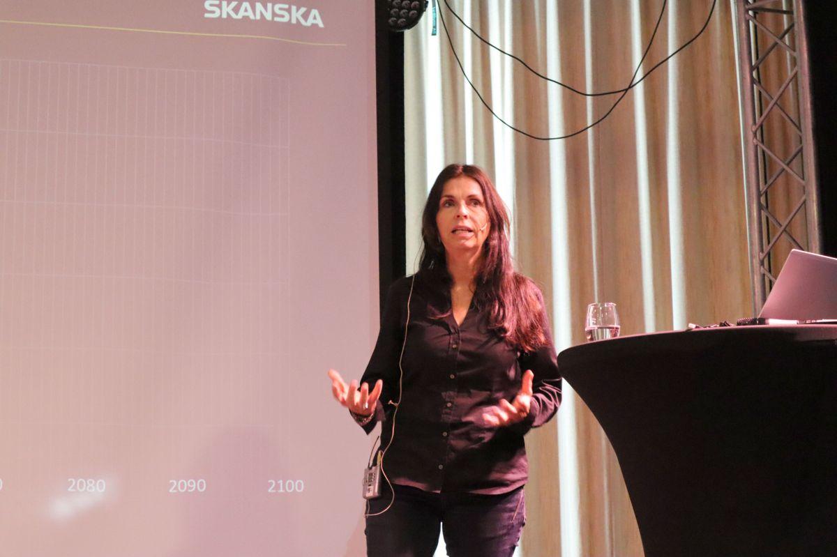 Sjefsrådgiver Marit Thyholt i Skanska. Foto: Svanhild Blakstad