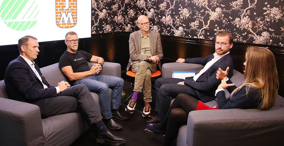 Masrtin Asp, Tormod Lien, Erik Aasheim, Sveinung Rotevatn og Guro Hauge.