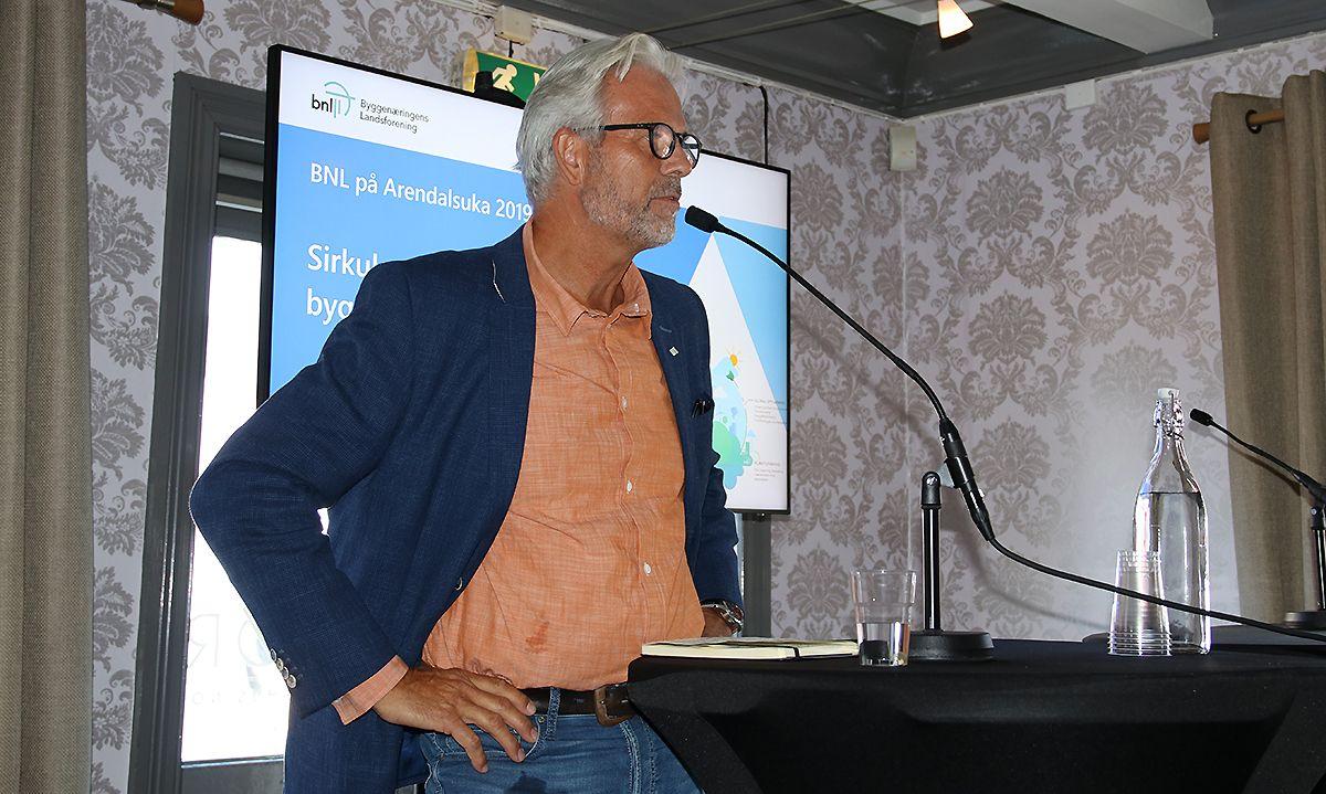 Jon Sandnes, adm.dir. i Byggenæringens Landsforening (BNL).