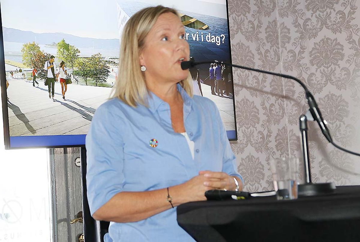 Randi Andersen Lekanger, miljøsjef i Skanska Norge.