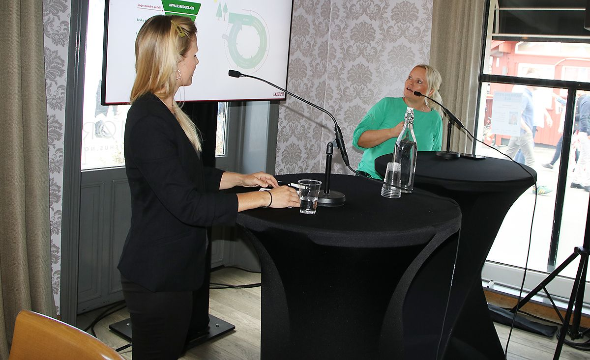 Hege Voll Midtgaard, merkevaresjef i Bergene Holm AS og Tone Bente Bergene Holm, kommunikasjonsdirektøri Bergene Holm AS.
