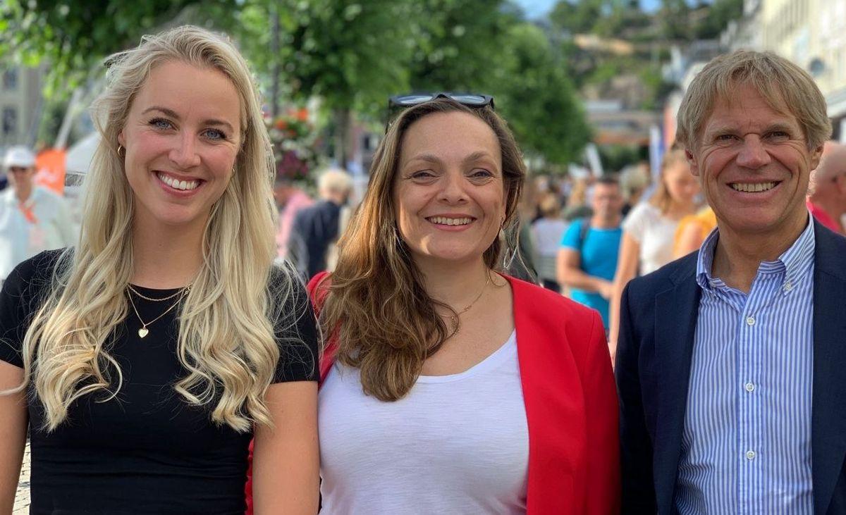 F.v. Gina Marie Qvale, Mali Smogeli-Johansen og Ole-Petter Thunes.
