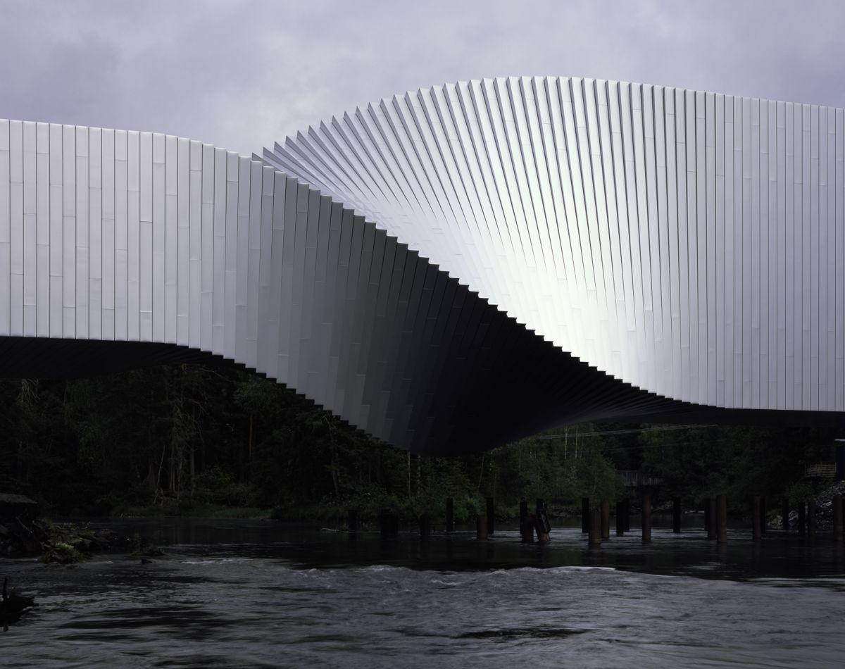 `The Twist` er kåret til ett av verdens vakreste bygg i 2019 av Bloomberg, The Telegraph og Elle Decor. Foto: Hélène Binet.