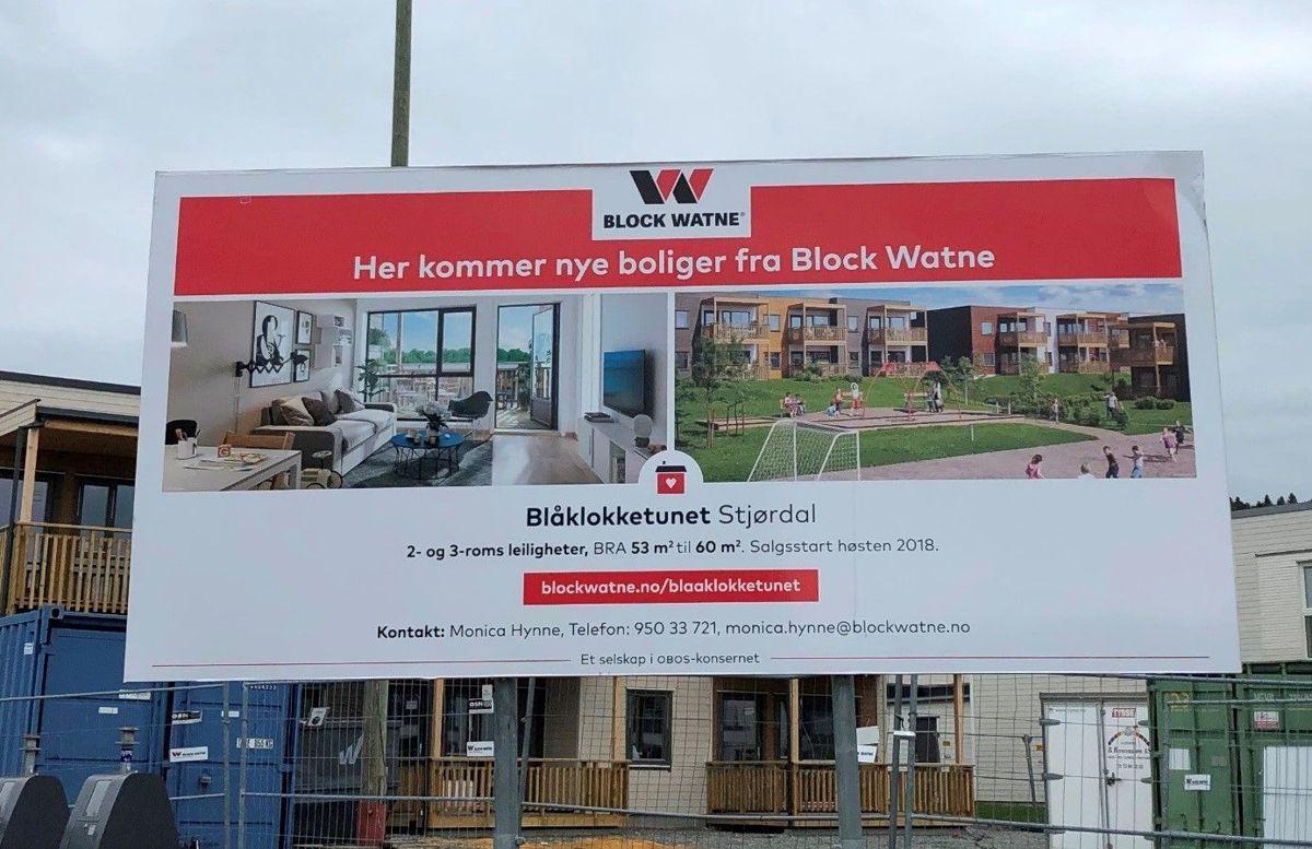 Block Watne, DK Trøndelag, prosjekt Blåklokketunet.