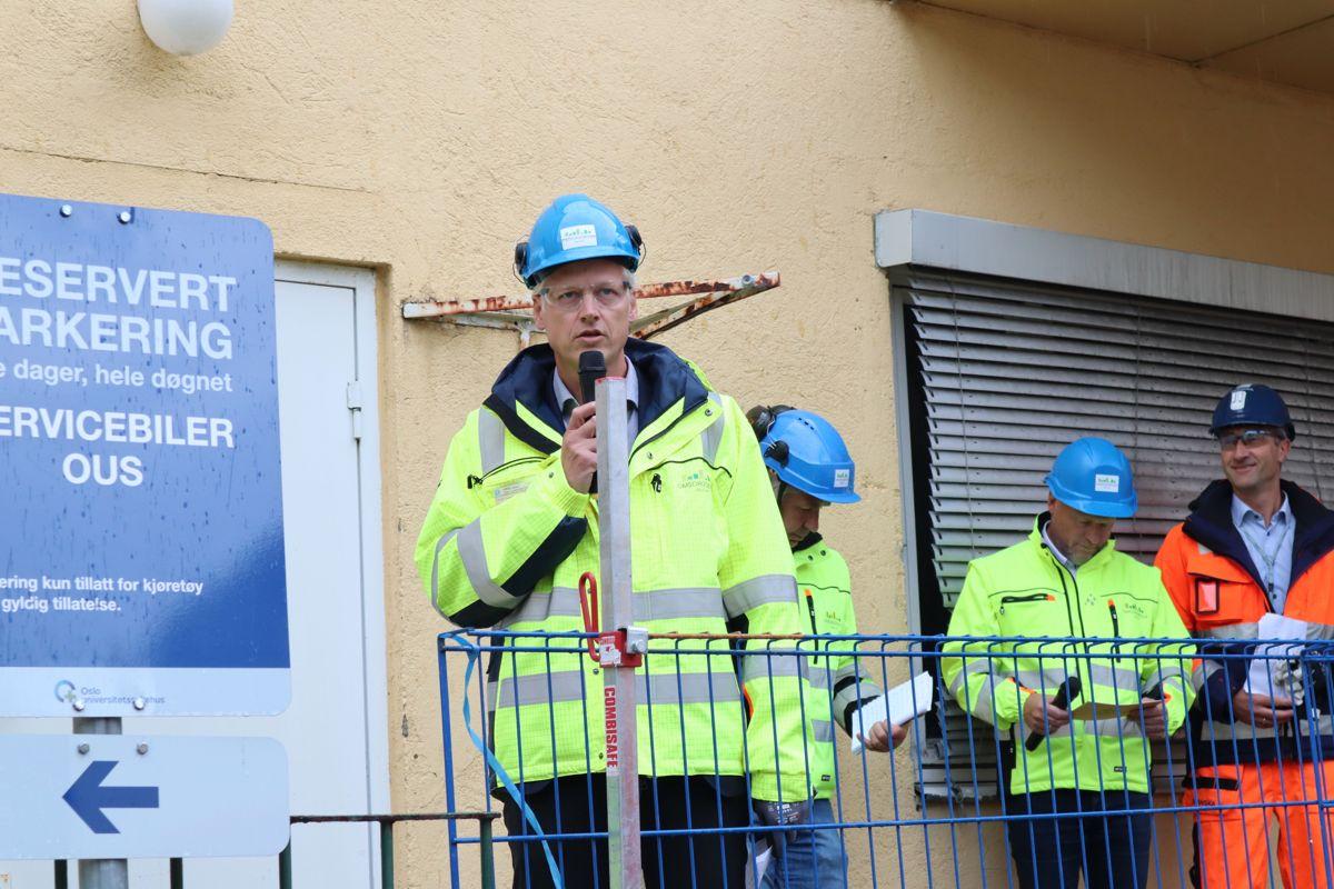 Tor Hoel, prosjektdirektør for Oslo storbylegevakt. Foto: Svanhild Blakstad