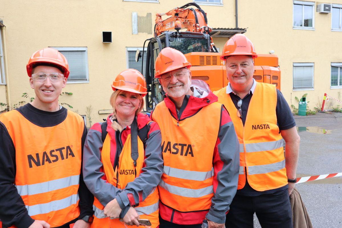 Nasta skal levere mange av de elektriske maskinene som skal brukes på prosjektet. Foto: Svanhild Blakstad