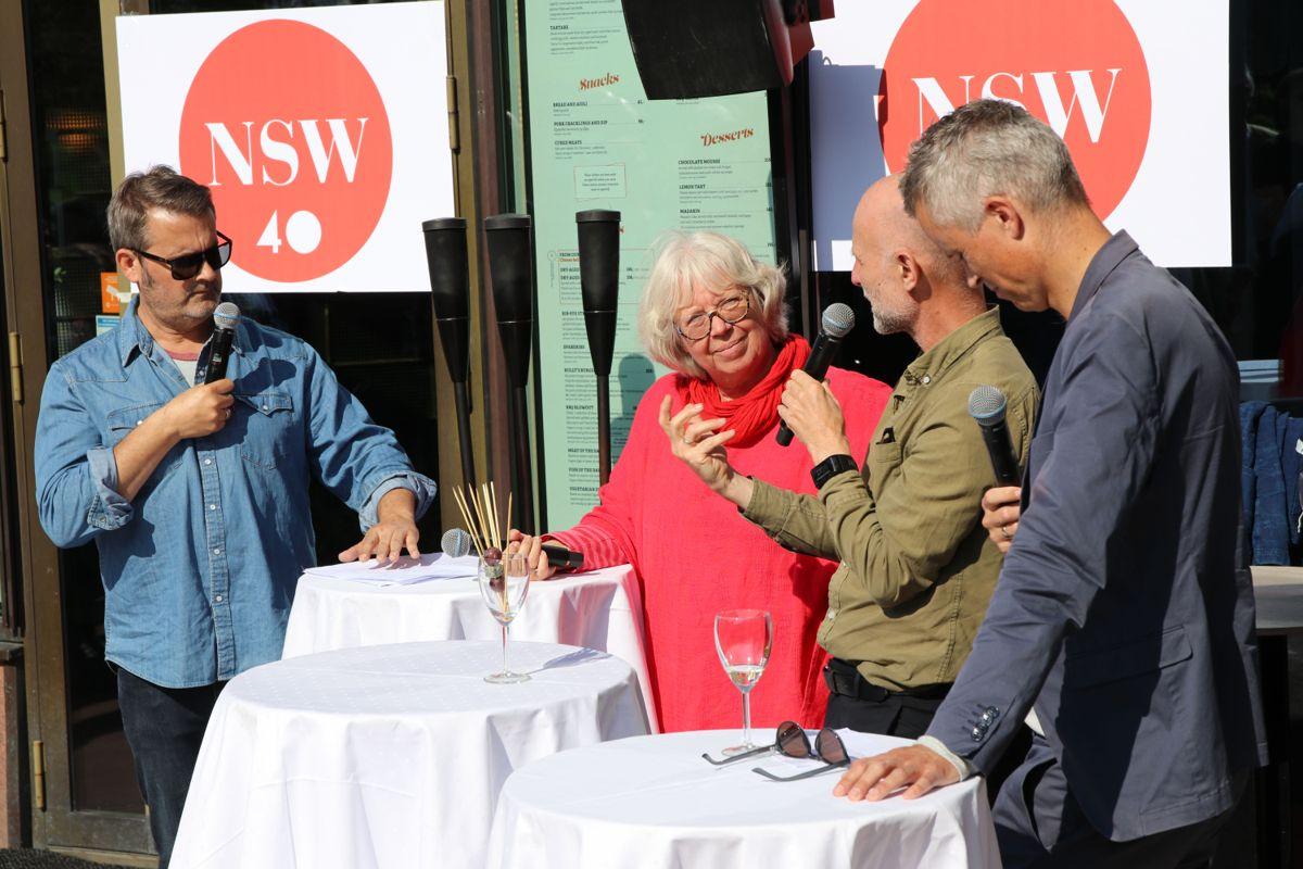 Det ble fokus på byliv gjennom flere paneldebatten hvor Janne Wilberg (Byantikvar i Oslo), Erling Dokk Holm (urbanist, pedagog og skribent), Tor Inge Hjemdal (adm. dir. Norsk Design og arkitektursenter – DOGA) og debattleder og inspirator Thomas Seltzer delok.