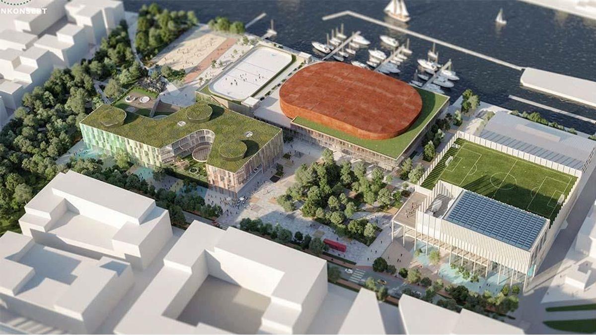 Forslaget Campus.