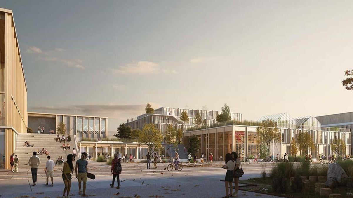 <p>Forslaget Urban Campus.</p>