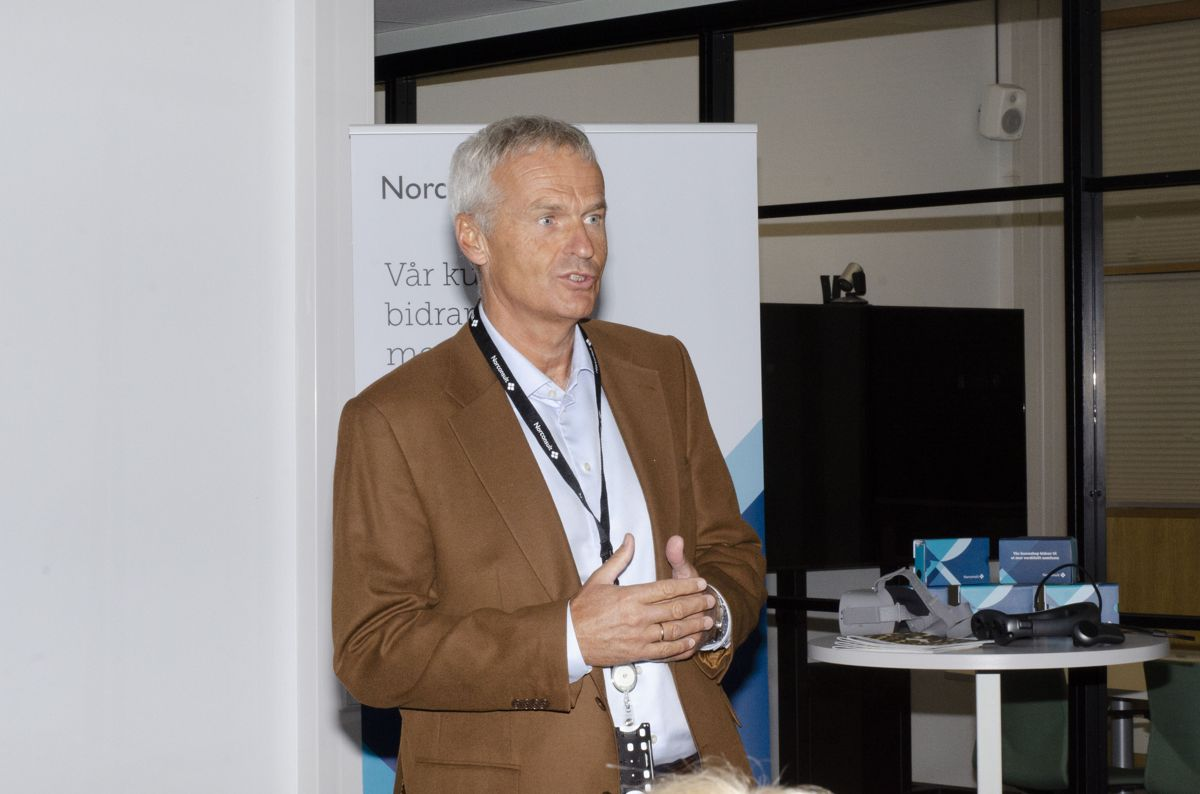 Konserndirektør Per Kristian Jacobsen i Norconsult.