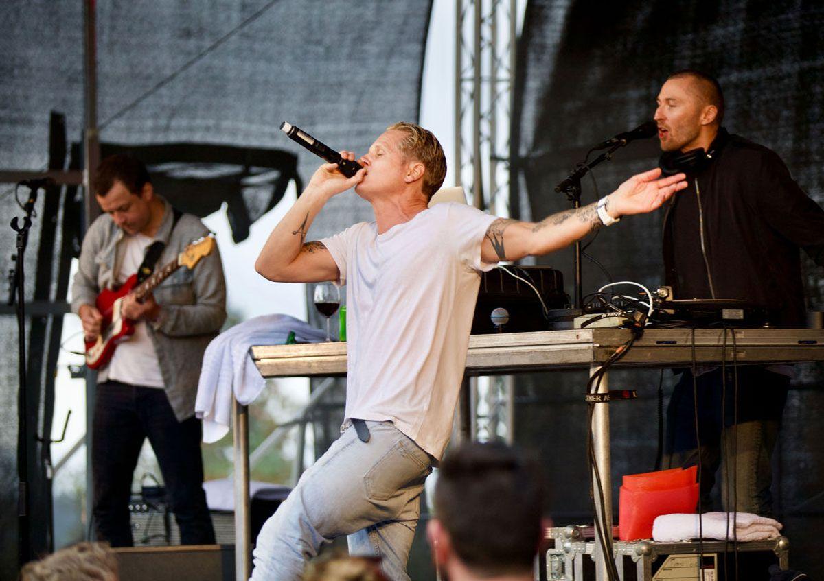 Konsert med Vinnie på Frognerseteren. Foto: VVS Eksperten