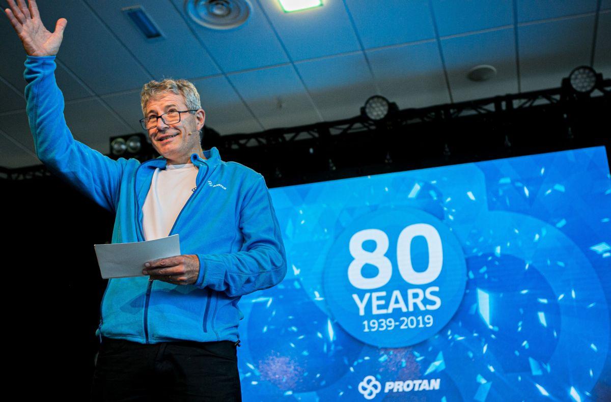 Konsernsjef Erik Øyno. Foto: Johnny Syversen