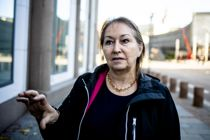 Bekymret: KS-leder Gunn Marit Helgesen er bekymret for økende grad av trakassering og hets, og hun ber politikerne i Nordkapp ta seg en alvorsprat om debattklimaet. Foto: Magnus Knutsen Bjørke