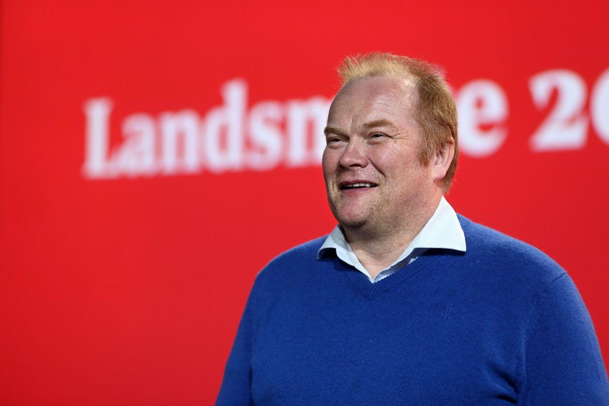 Bjørn Inge Mo (Ap) blir fylkesrådslede. Foto: Bernt Sønvisen