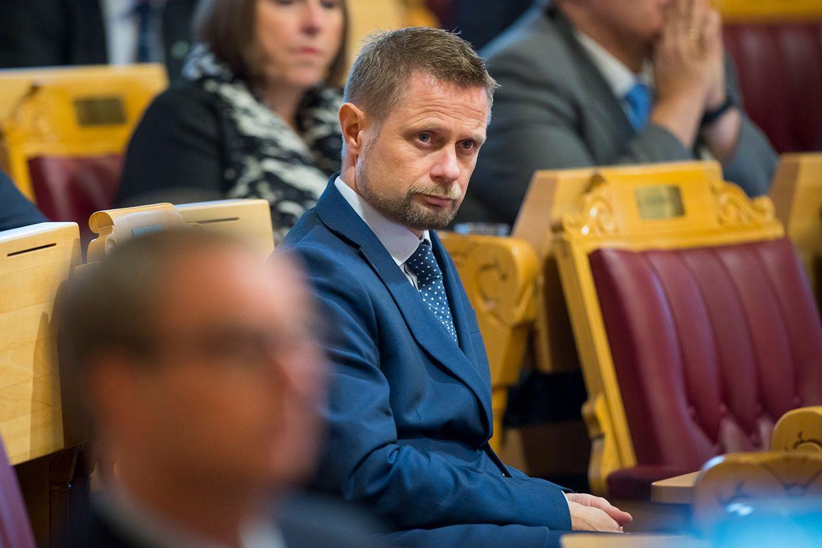 Helseminister Bent Høie (H) skal gjennomføre en rusreform i løpet av de neste fire årene. Foto: Heiko Junge / NTB scanpix