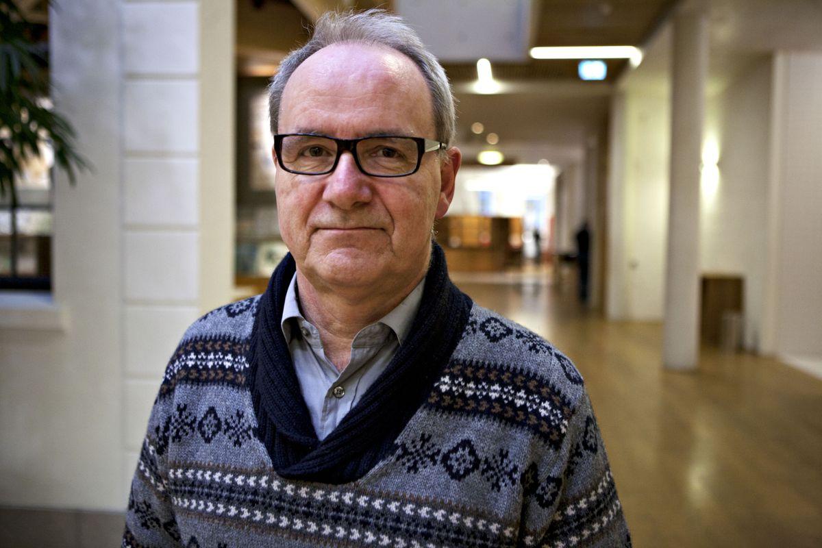 Ivar Johansen (SV) er fornøyd med at Høyre vil endre særaldersgrensene, men vil også bli kvitt politikernes «gullpensjon». Foto: Patrick da Silva Sæther