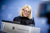 Kommunalminister Monica Mæland (H) la fram et stramt budsjett for kommunesektoren i dag. Arkivfoto: Magnus Knutsen Bjørke