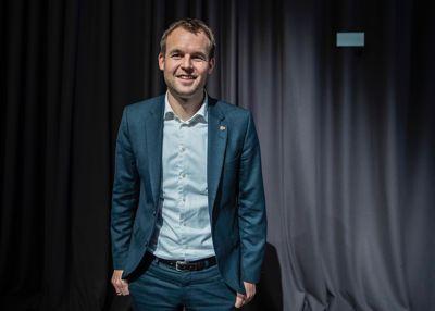 – Men vi skal ikke glemme at mye går i riktig retning, sa KrF-leder Kjell Ingolf Ropstad, da han svarte på kritiske spørsmål om situasjonen i barnevernet i Stortinget torsdag. Foto: Stian Lysberg Solum, NTB scanpix
