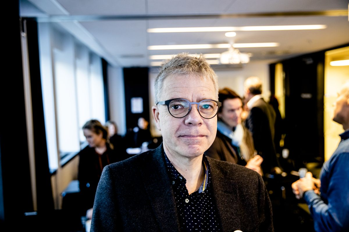 Seniorrådgiver i Eivind Wik Direktoratet for e-helse advarer mot manglende digital kommunikasjon i helsevesenet. Foto: Magnus Knutsen Bjørke