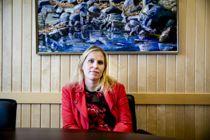 Ordfører Kamilla Thue (Ap) i Eidskog har mistet sine samarbeidspartier Høyre, Venstre og Frp. Foto: Magnus Knutsen Bjørke