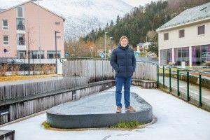 SAMFUNNSPLANLEGGER: Kjell Holdal i Meløy kommune har ledet fornyingsarbeidet i Glomfjord.