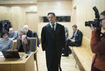 Advokat Kjetil Edvardsen (i midten), som representerer saksøkerne, under rettssaken i Oslo tingrett. Foto: Berit Roald / NTB scanpix