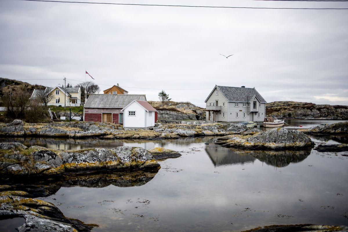 Pent er det der og gamle blir de. Kystkommunen Fedje har flest innbyggere over 100 i forhold til innbyggertall. Foto: Magnus Knutsen Bjørke
