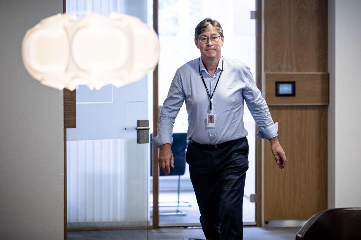 Jon Hippe, Storebrands direktør for forretningsområdet offentlig sektor, har all grunn til å glede seg etter at selskapet i dag ble tildelt kontrakten om forvaltning og administrasjon av Vestland fylkeskommunes pensjonsordning.