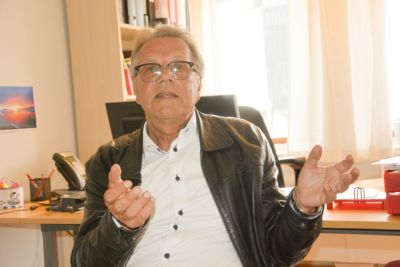 – Mobbesaken har et skremmende omfang, sier kommunalsjef Erling Laland i Drangedal. Foto: Jan Magne Stensrud, Drangedalsposten