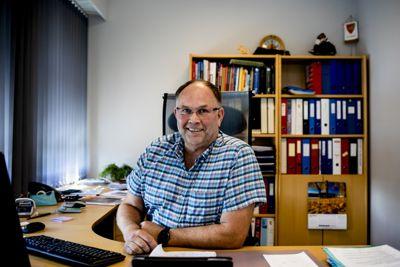 Får nytt navn: Ordfører i Nes i Buskerud, Tore Haraldset (Nes Bygdeliste), er på jakt etter nytt kommunenavn. Foto: Nes kommune