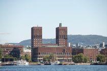 140 ansatte i Oslo rådhus kan bli tatt ut i streik dersom Akademikerne og Oslo kommune ikke blir enige i mekling. Foto: Terje Bendiksby / NTB scanpix