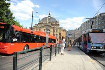Kostnadsnøkler for samferdsel, særlig buss og bane, gjør størst utslag på fordelingen mellom fylkene i det nye inntektssystemet. Foto: Lisa Rypeng