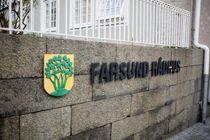Bak lukkede dører i Farsund rådhus skulle kommunestyre diskutere en sensitiv sak, men lyden fra møtet nådde likevel ut.  Foto: Magnus K. Bjørke