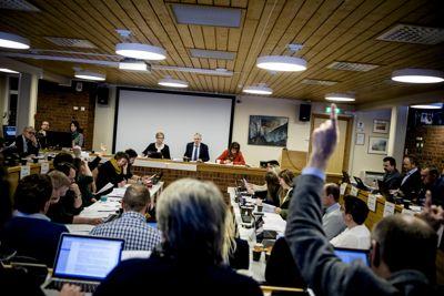Indre Fosen kommunestyre kan notere seg et driftsresultat på en prosent. Det er best av de nye kommunene. Foto: Magnus Bjørke