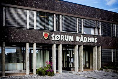 Sørum gikk så vidt i pluss i driften, med et netto driftsresultat på 0,8 prosent av driftsinntektene. Arkivfoto: Magnus Knutsen Bjørke