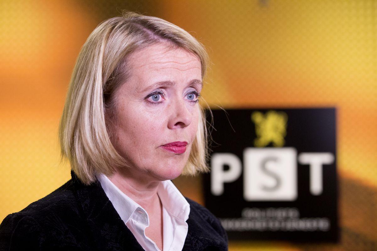 PST-sjef Benedicte Bjørnland mener det er viktig at trusler mot politikere etterforskes med kraft og at straffene blir deretter. Arkivfoto: Håkon Mosvold Larsen / NTB scanpix