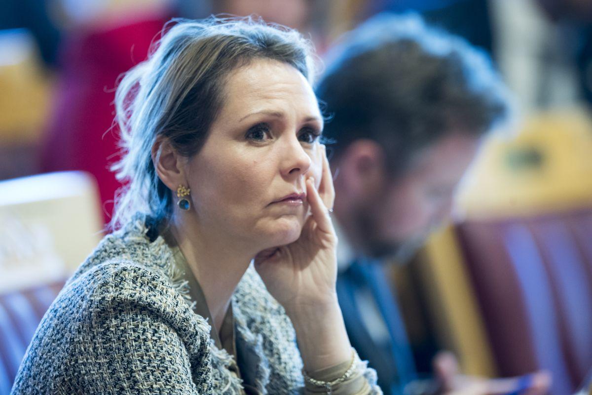 Barne- og likestillingsminister Linda Hofstad Helleland (H) Foto: Terje Pedersen / NTB scanpix