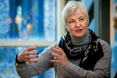 Valgerd Svarstad Haugland er den mektigste av statsforvalterne, med Oslo og Viken som sitt område.
