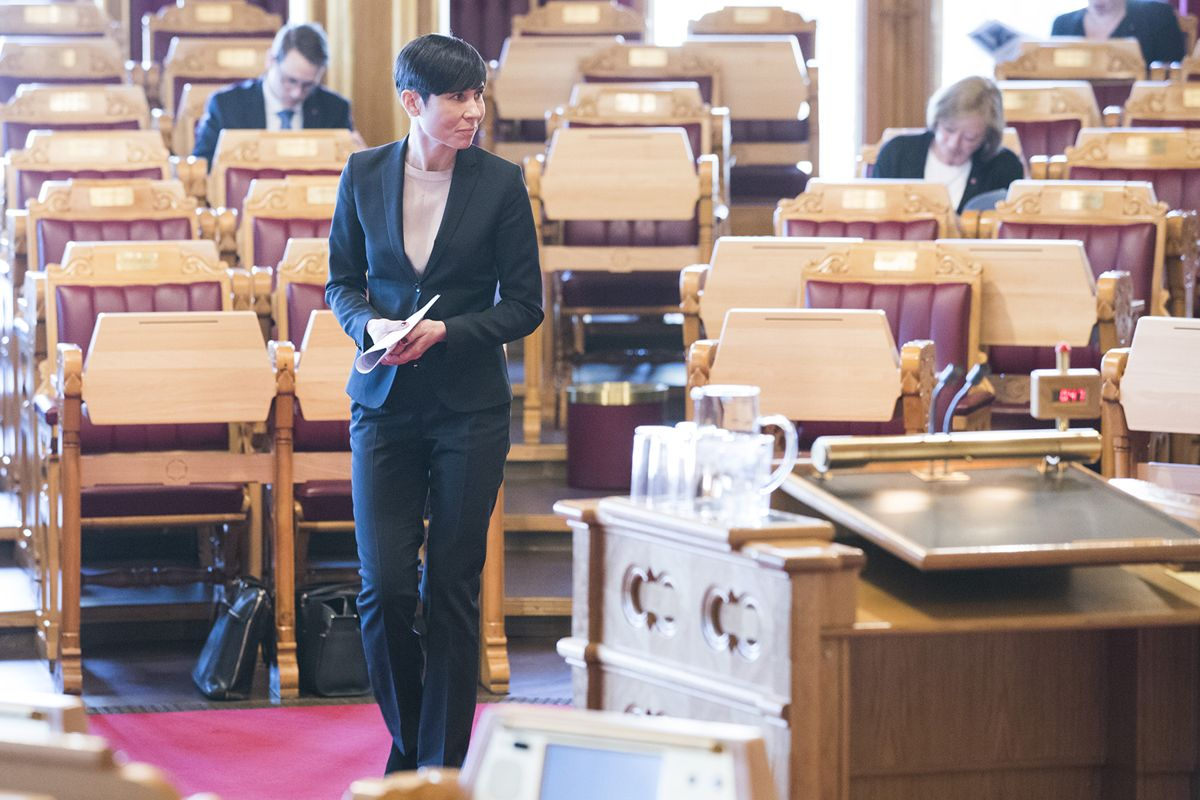 Utenriksminister Ine Eriksen Søreide (H). Foto: Håkon Mosvold Larsen / NTB scanpix