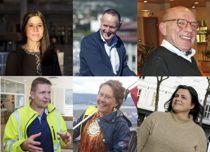 Dette er årets kandidater til Årets kommuneprofil. Du kan avgjøre hvem som blir den endelige vinneren.