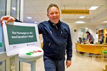 Årets kommuneprofil 2017 ble Andreas Chr. Nørve, rådmann i Vanylven. Foto: André Pedersen