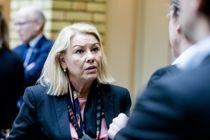 Kommunalminister Monica Mæland (H) svarer på kritikken mot statsbudsjettet. Arkivfoto: Magnus Knutsen Bjørke
