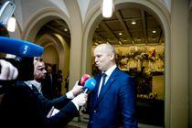 Sp-leder Trygve Slagsvold Vedum går hardt ut mot regjeringens budsjettforslag. Arkivfoto: Magnus Knutsen Bjørke