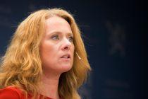 Arbeids- og sosialminister Anniken Hauglie (H) legger fram stortingsmeldingen Nav i en ny tid for arbeid og aktivitet. Meldingen følger opp rapporten fra ekspertutvalget i Nav. Foto: Berit Roald / NTB scanpix